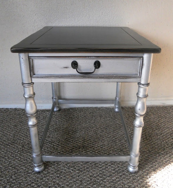 {createinspire}: Silver Side Table