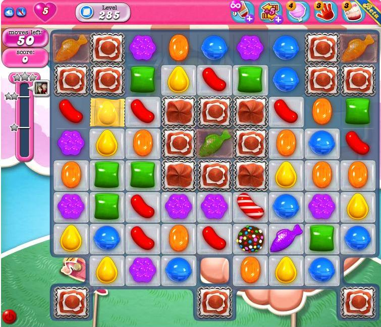 Candy Crush lv 285 tips