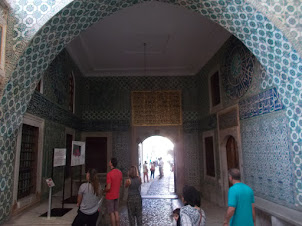 """The """"HAREM"""" enclave  in Topkapi Palace of Istanbul."""