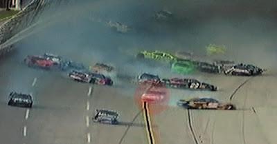 Greg Biffle avoids Talladega wreck