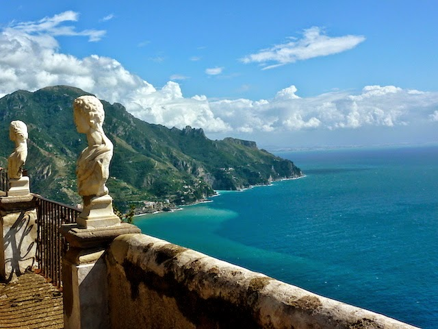 Amazing view over the Amalfi Coast