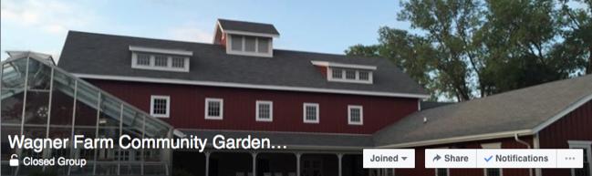 Wagner Farm Community Garden Facebook Group