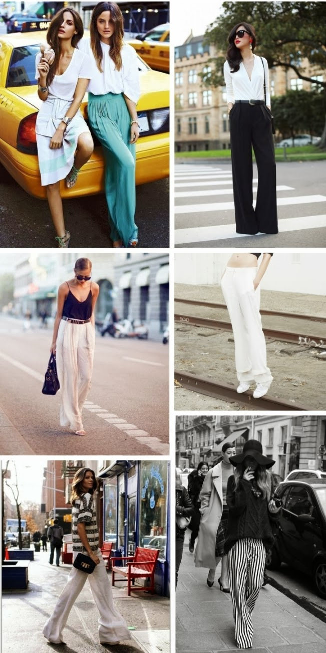 wide leg, inspirational board, fashion trend, inspiration, wide leg pants, wide trousers, style blogger blog