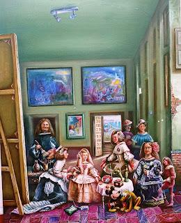Las Meninas de Velázquez para niños