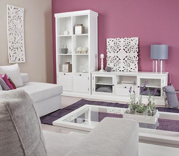 Salones en tonos grises decorar tu casa es - Salones en tonos grises ...