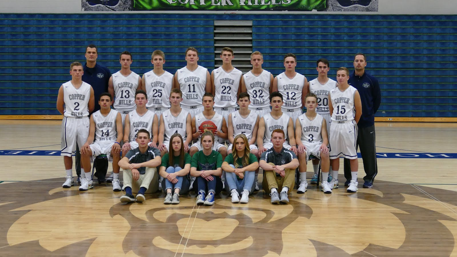 2015-2016 Varsity Team