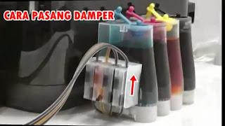 cara pasang dumper infus 4 warna