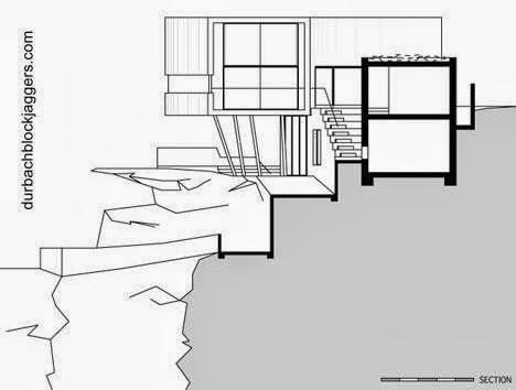 Plano de alzada de la residencia