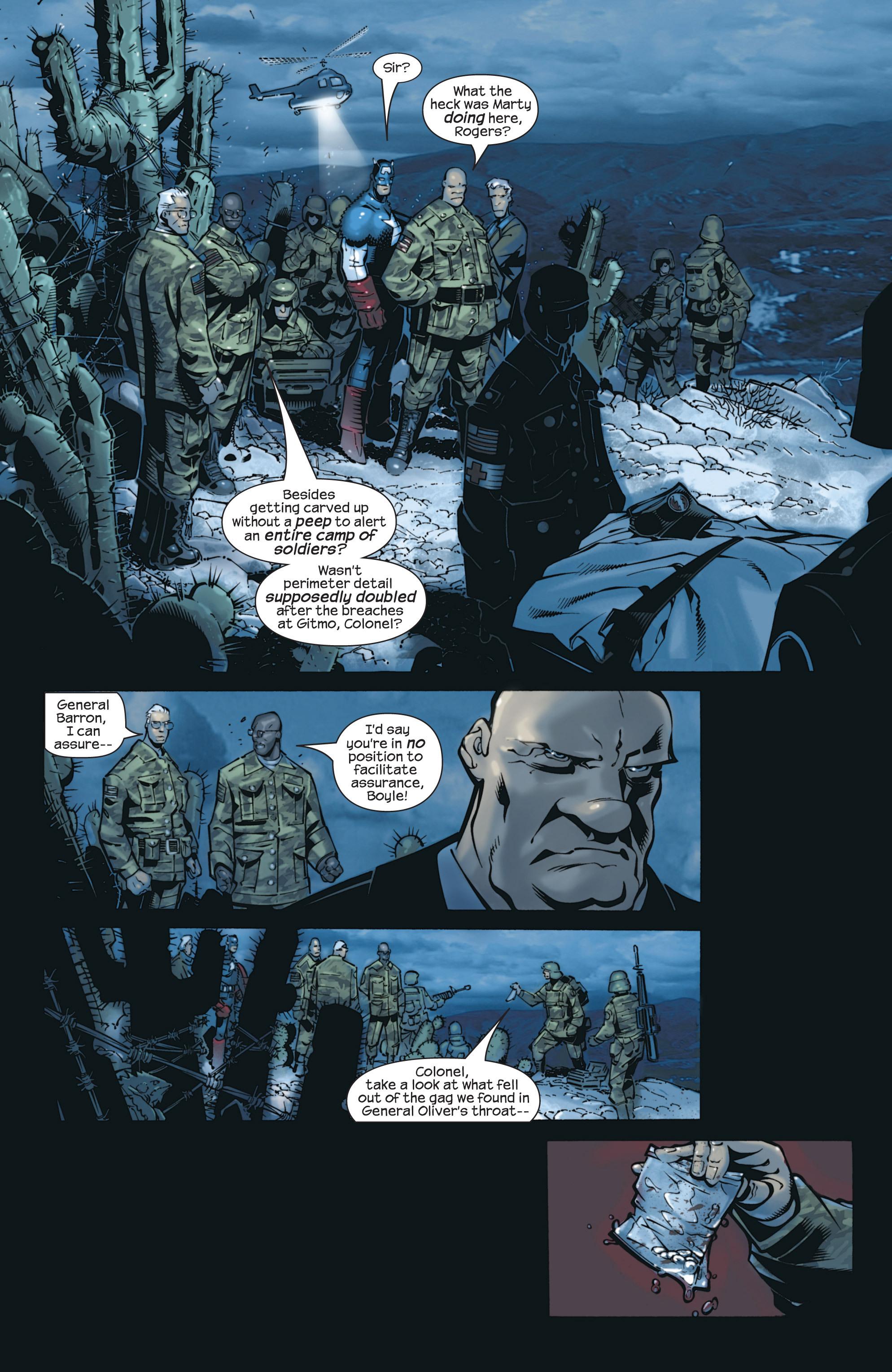 Captain America (2002) Issue #23 #24 - English 5