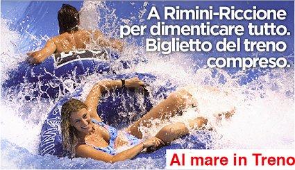 mare treno Rimini