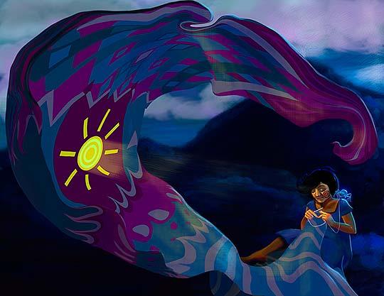 Ilustración, El gran Urko de Angie Rodríguez Muñoz