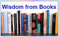 <b>WISDOM FROM BOOKS</b>