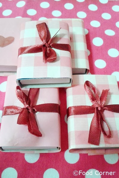 Valentine's Day Gifts with Boxes of Matches