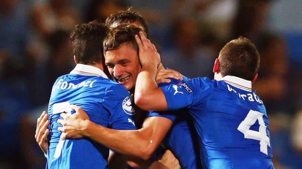 Euro U21 - Italy vs Israel