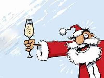 Papai Noel no Ano Novo