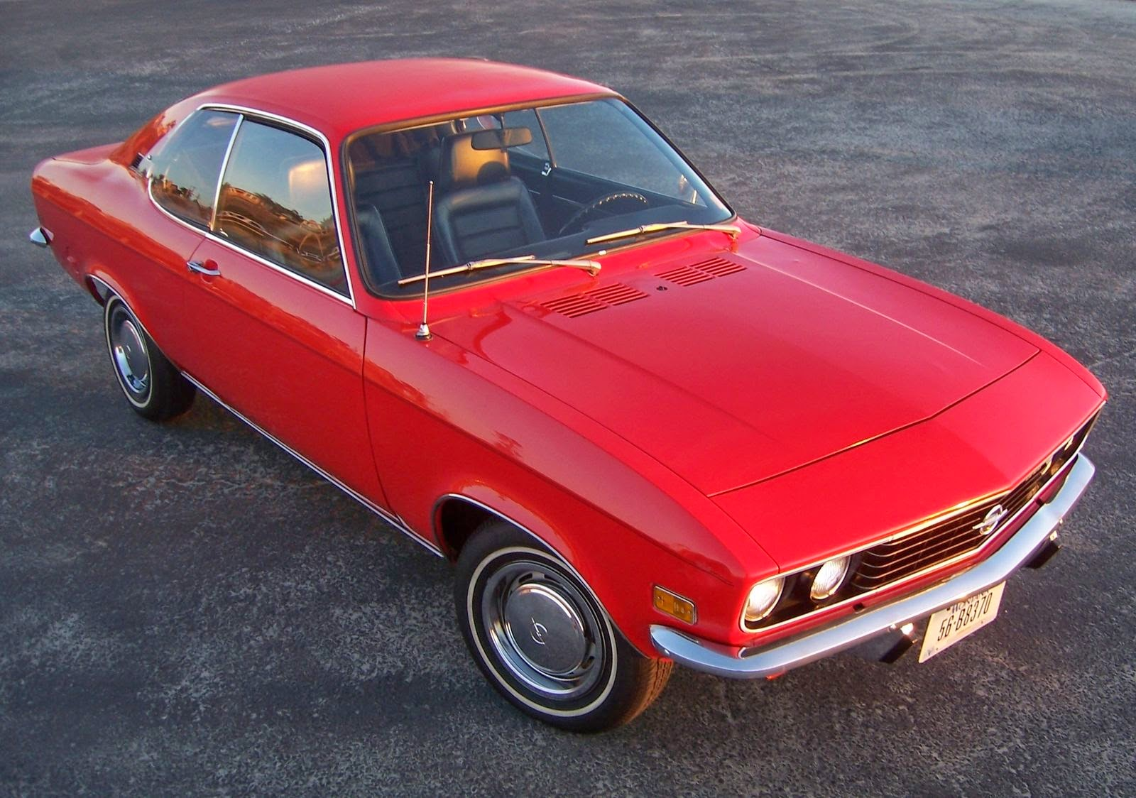 daily turismo 5k nicest around 1972 opel manta a. Black Bedroom Furniture Sets. Home Design Ideas