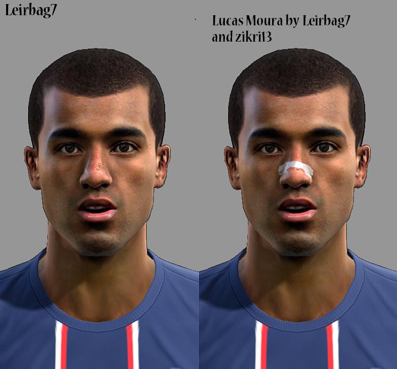 Central PES & Cia: Face Lucas Moura-PES 2013