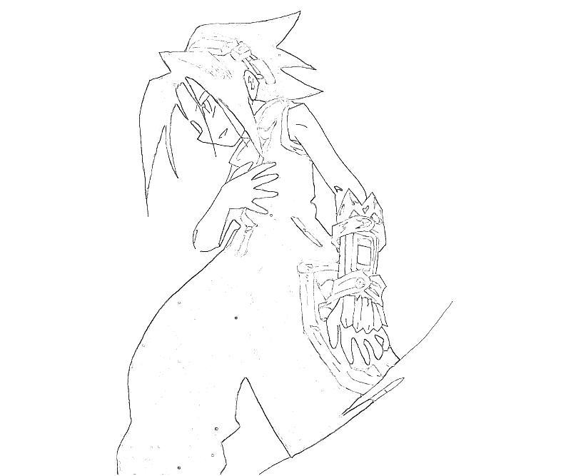 printable-shaman-king-yoh-asakura-art-coloring-pages