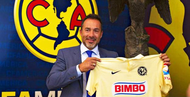 Gustavo Matosas, director técnico uruguayo, presentado como nuevo entrenador del Club América de México. Su contrato es de dos años (aunque su estadía en Coapa depende de los resultados) | Ximinia