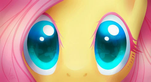 Love big shiny eyes of kindness, and Fluttershy is so cute.