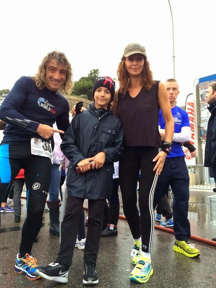 Toma Coconea, 20 de maratoane in 7 zile, la No Finish Line. Tomi, Mihaela si Ayan