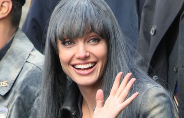 New trends in hair color gray in all hair lengths.