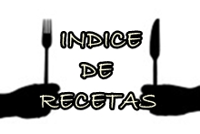 Indice de Recetas