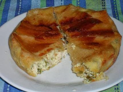 Bricks au poulet et au fromage