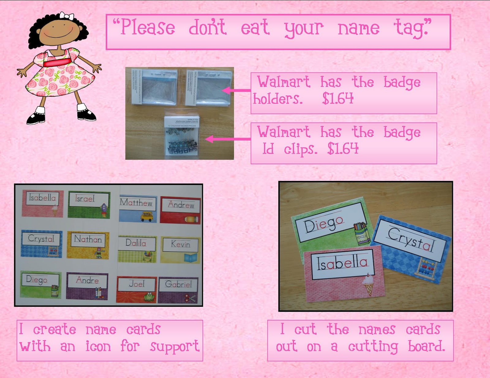 Good Card Making Name Ideas Part - 12: Youu0027re It! The Art Of Making Name Tags