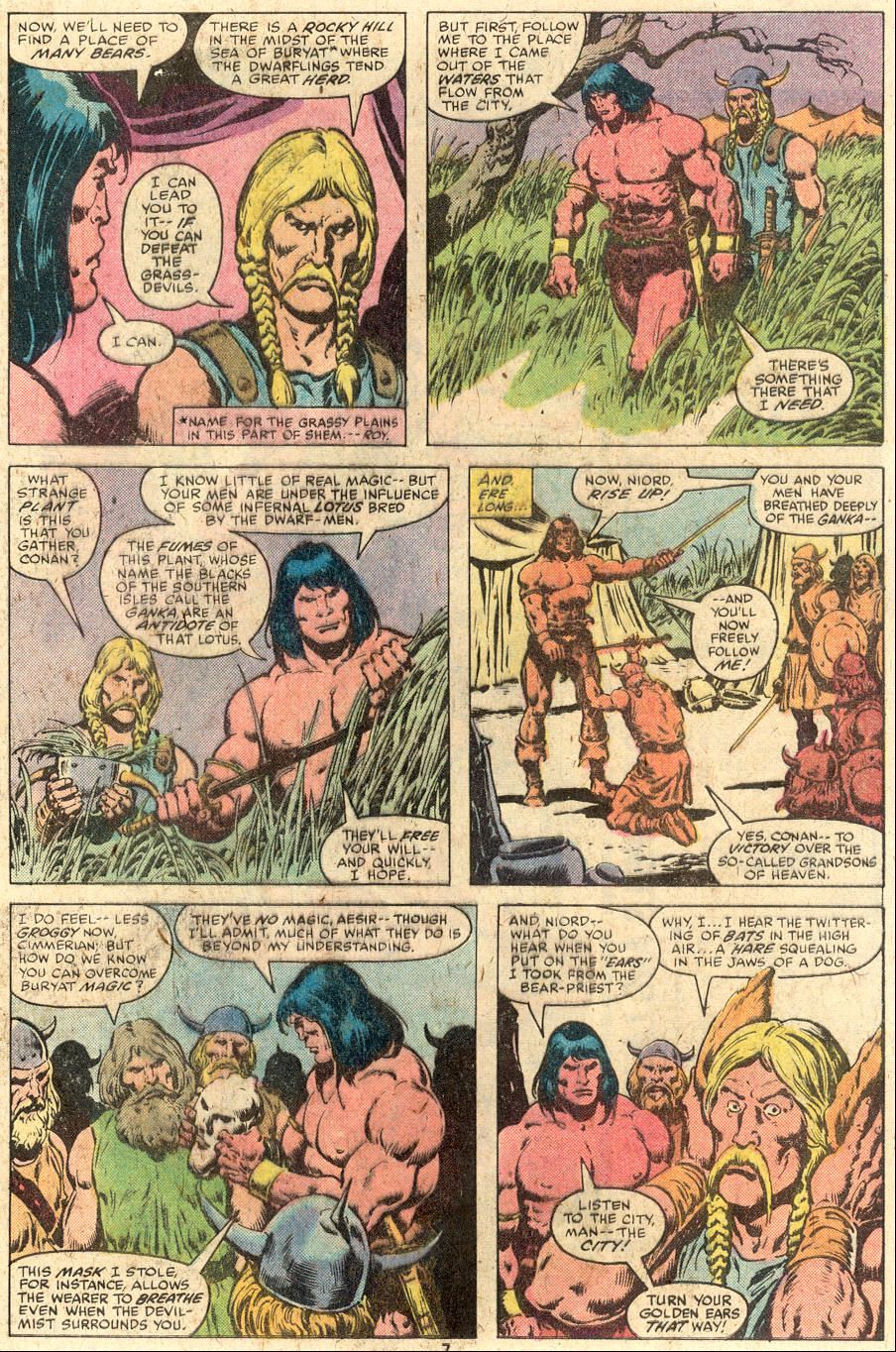 Conan the Barbarian (1970) Issue #112 #124 - English 6