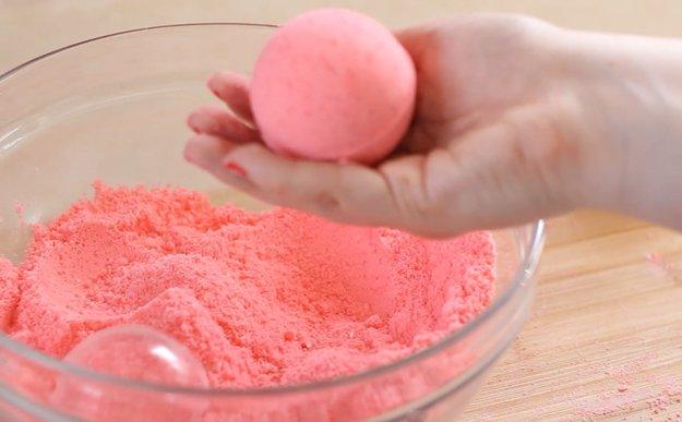 Cómo hacer bombas de jabón caseras