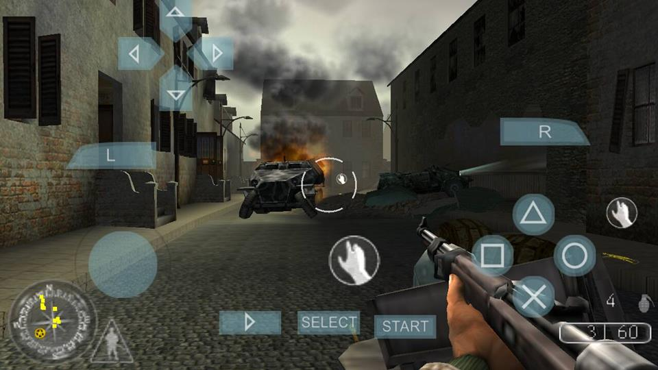 download call of duty roads to victory psp iso free