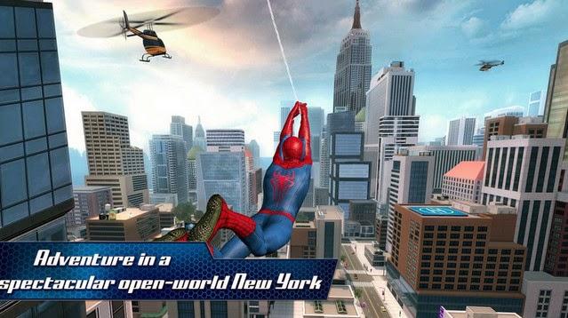 The Amazing Spider-Man 2 1.1.0ad OFFLINE APK + SD DATA Files + MOD ...