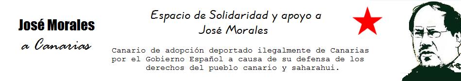 José Morales a casa