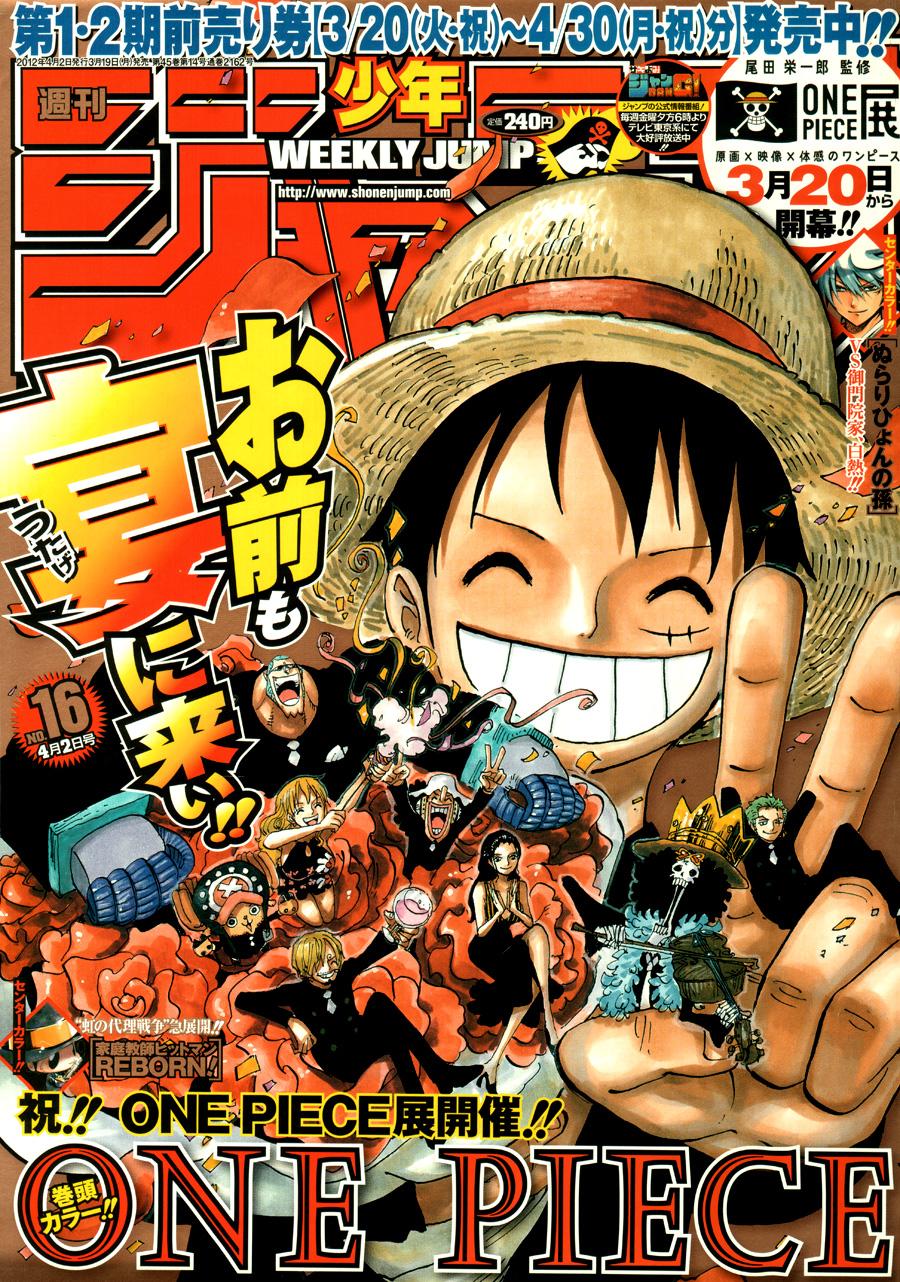 One Piece Chapter 660: Thất Vũ Hải Hoàng Gia Trafalgar Law 001