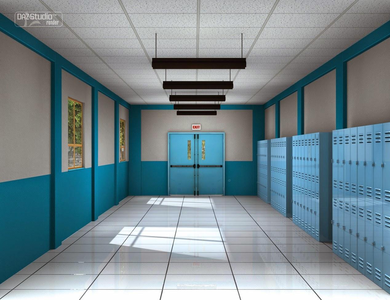 École Couloir