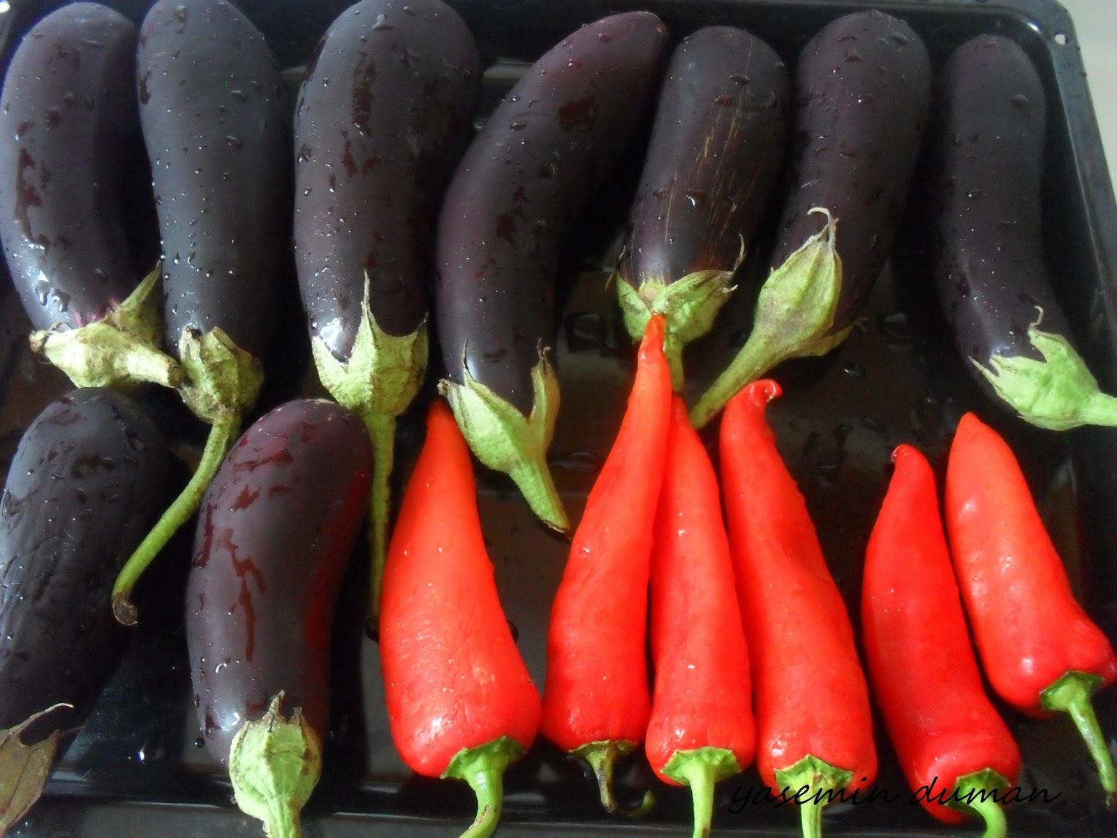 Kışlık Közlenmiş Patlıcan Nasıl Saklanır