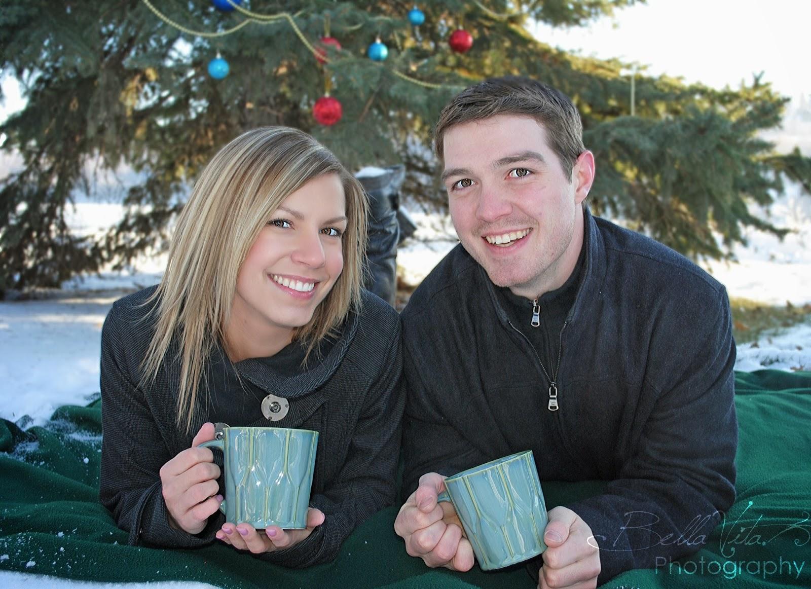 Bella Vita Photography: Kaelyn & Garrett, Christmas Photo\'s