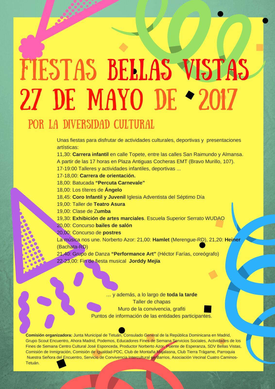 27 mayo Fiestas de Bellas Vistas en Tetuán