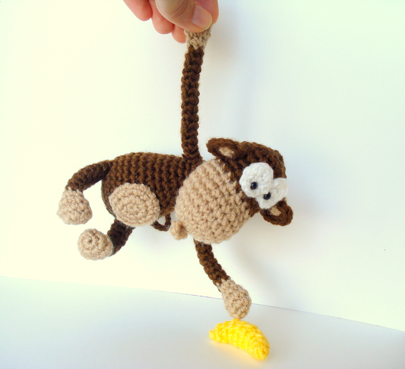 Amigurumi To Go Monkey : AllSoCute Amigurumis: Amigurumi Monkey Pattern, Crocheted ...