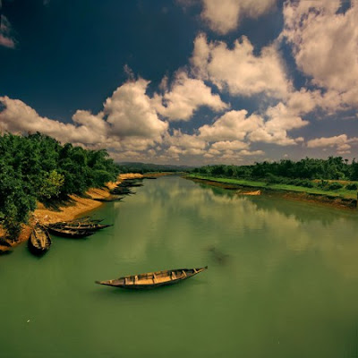 Boat In River Bangladesh