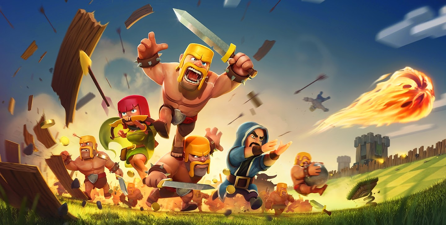 Clash of Clans gratis en los dispositivos móviles
