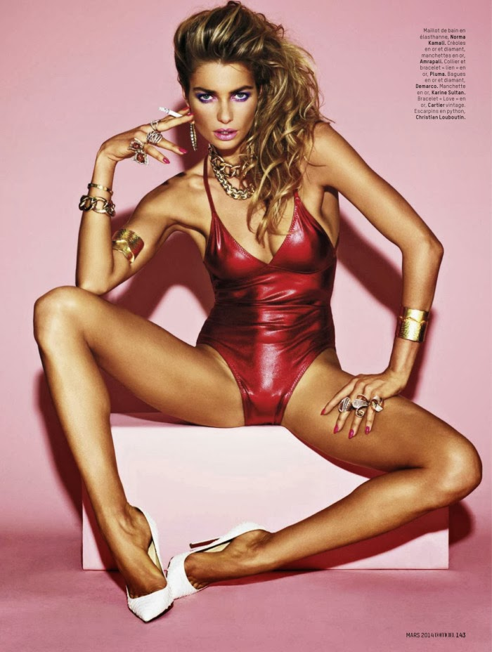 Jessica Hart HQ Pictures L'Officiel Paris Magazine Photoshoot March 2014