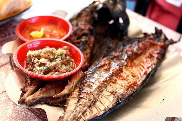 Ikan Tongkol Bakar Sederhana
