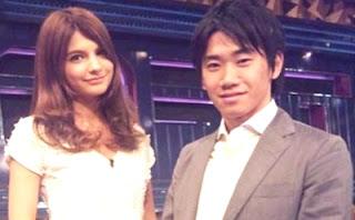 Shinji Kagawa andAmeri Ichinose