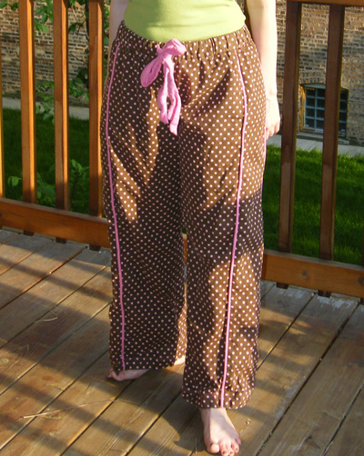 Pink Polka Dotted Flannel Tofino