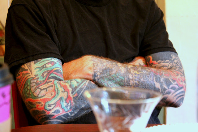 tattooed arms- sebastian orth