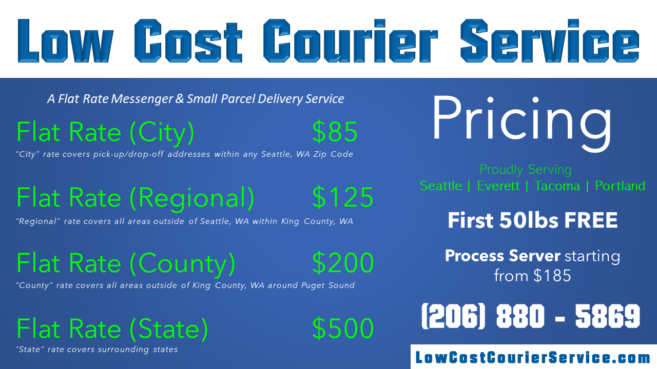 Low Cost Courier Service