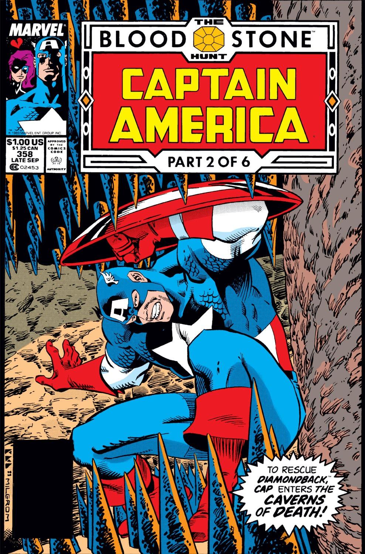 Captain America (1968) Issue #358 #291 - English 1