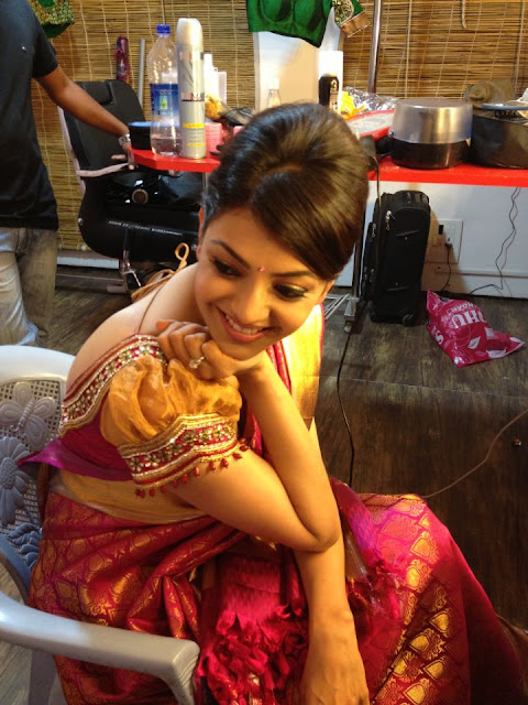 Kajal Agrawal Beautiful Cute Face Wallpaper Collection